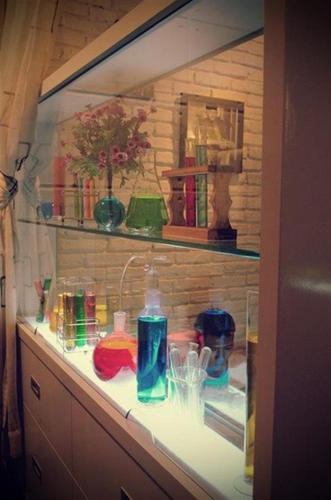 Lab là chốn tìm về ưa thích của những người mê hóa và các bạn trẻ thích mới lạ