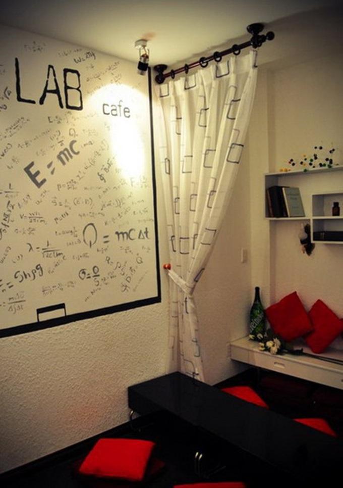 Phong cách bài trí ấn tượng của Lab