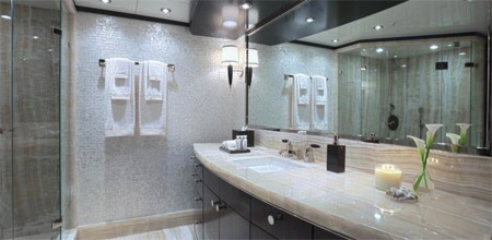 Còn đây là phòng tắm dành cho quý ông.