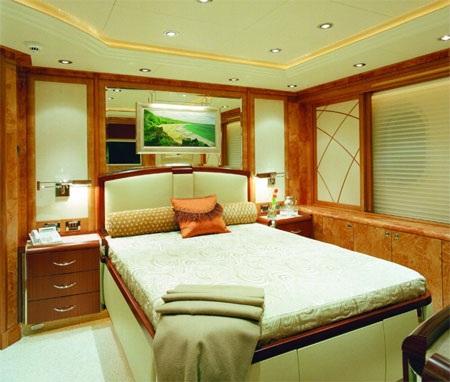 Có 5 phòng khách trên du thuyền Allegria.