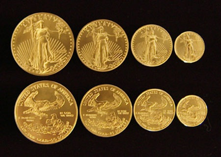 Chính phủ Mỹ cạn tiền xu vàng để bán