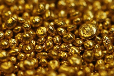 Dự trữ vàng tính đến cuối năm 2013: 382,5 tấn