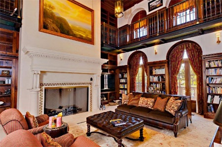 """Phòng khách """"trông như trong phim""""."""