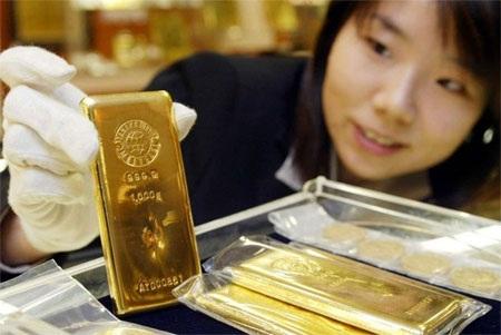 Dự trữ vàng tính đến cuối năm 2013: 765,2 tấn