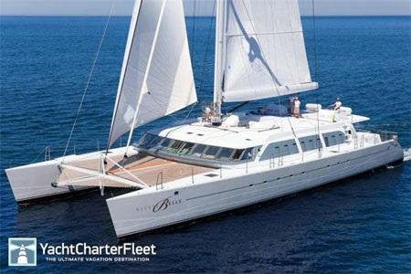 Du thuyền này hoạt động quanh năm trên vùng biển Caribbean.