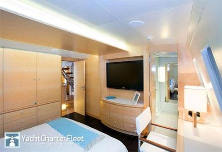 Các căn phòng chủ yếu mang màu sáng.