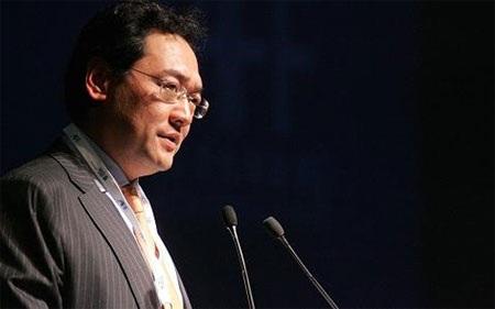 Chủ tịch China Resources, ông Song Lin, đã bị bắt vào tuần trước - Ảnh: Getty.