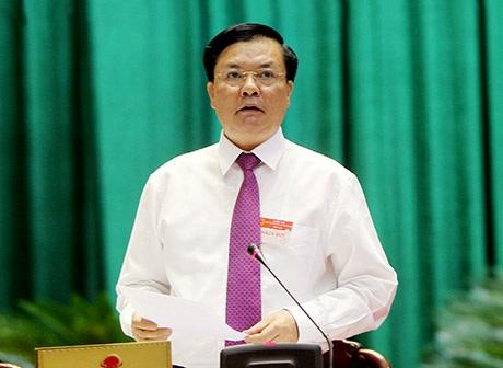 Bộ trưởng Bộ Tài chính Đinh Tiến Dũng