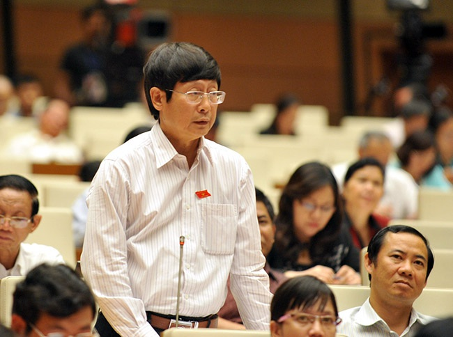 Đại biểu Quốc hội Đỗ Mạnh Hùng.