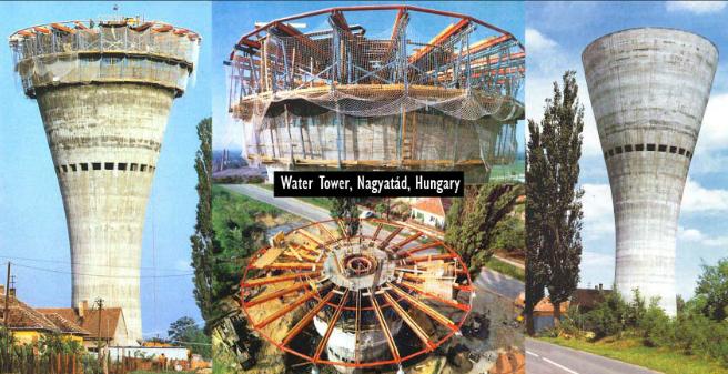 Công trình tháp nước tại Hungary.