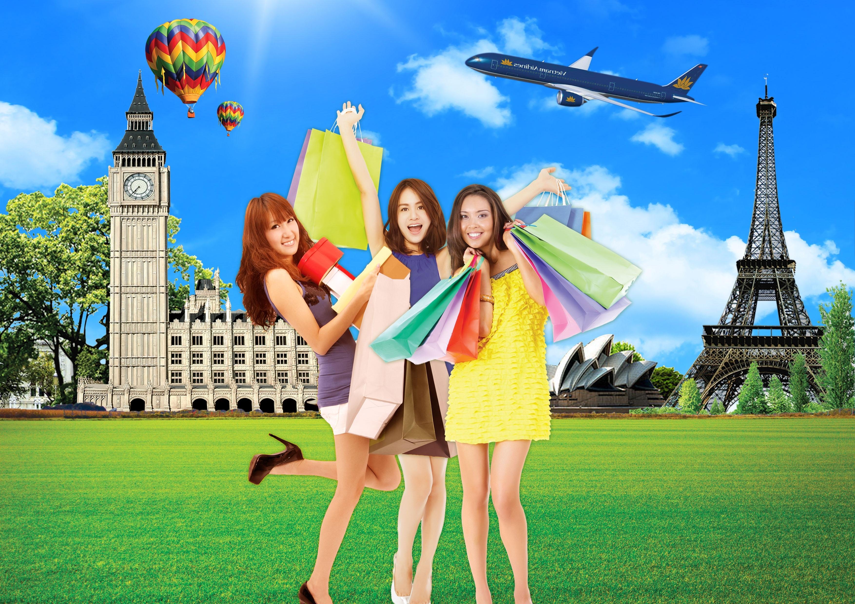 Mua sắm thỏa thích, tích thêm dặm bay với thẻ Vietnam Airlines Techcombank Visa | Báo Dân trí