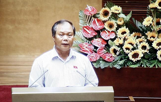 Chủ nhiệm UB Pháp luật của Quốc hội Phan Trung Lý (ảnh: Việt Hưng).