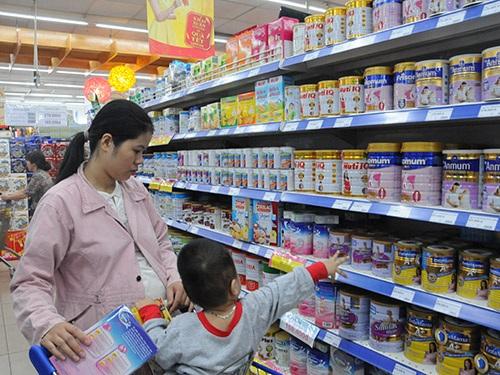 Thêm 42 sản phẩm sữa cho trẻ em tiếp tục được giảm giá.
