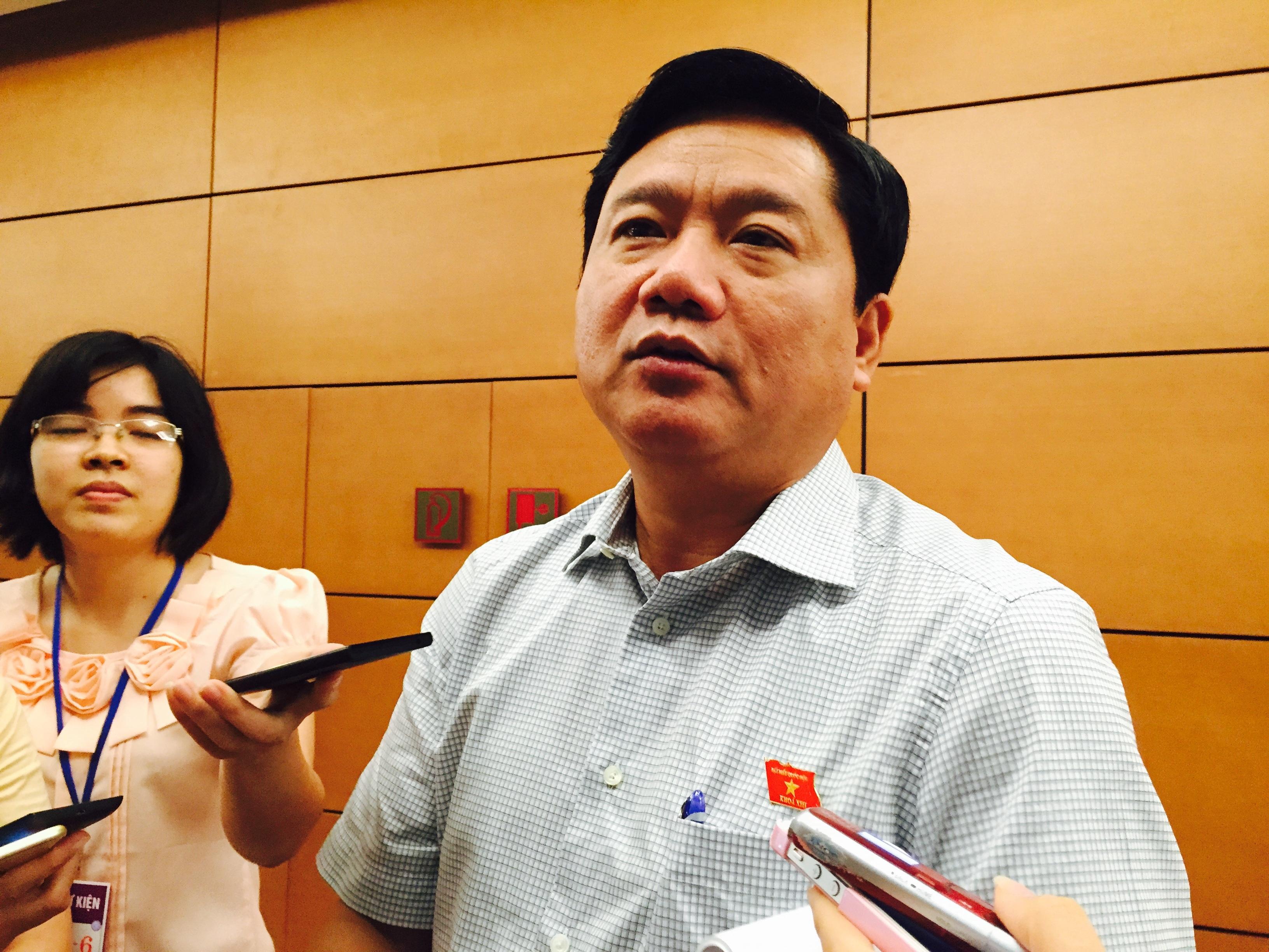 Bộ trưởng Đinh La Thăng (ảnh: NH).