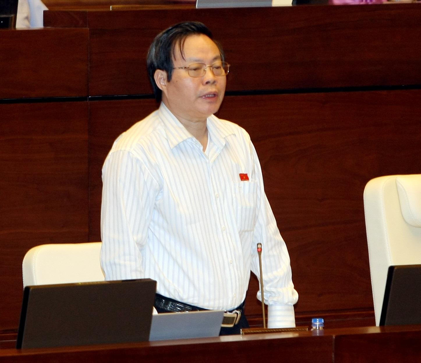 Chủ nhiệm Ủy ban tài chính, ngân sách của Quốc hội Phùng Quốc Hiển (ảnh: TTXVN).