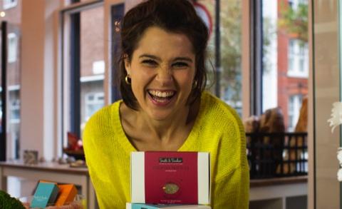 Cô là chủ sở hữu của chuỗi bán quà tặng và sản phẩm làm đẹp - Ảnh: Startups.co.uk