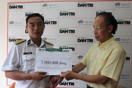 Quỹ Bé Nhân ái ủng hộ 5 triệu đồng đến  bé Mai Phương Trang - 1