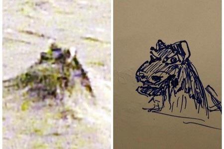 Bright phác họa lại hình ảnh đầu của quái vật hồ Loch Ness