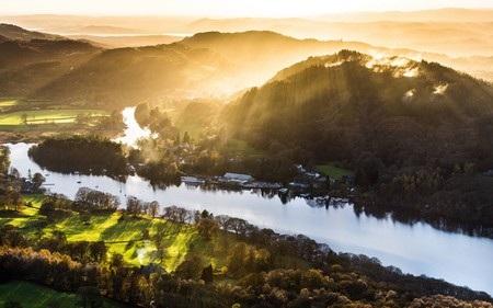 Khung cảnh tuyệt đẹp được chụp tại Lake District (thuộc hạt Cumbria, Vương quốc Anh).