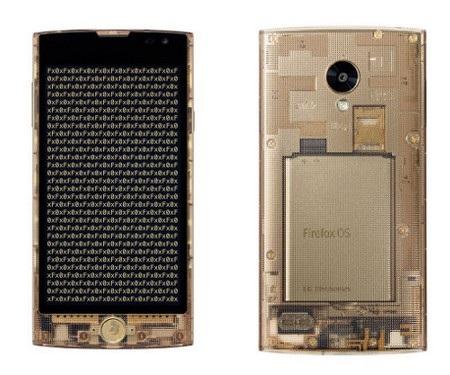 LG Fx0 sở hữu thiết kế độc đáo với lớp vỏ trong suốt