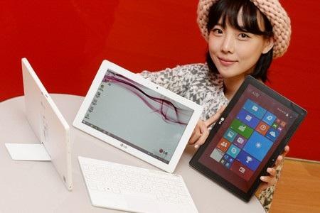 LG Tab Book Duo có thể sử dụng như một máy tính bảng hoặc laptop hoàn chỉnh