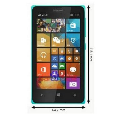 Hình ảnh của Lumia 435 mới bị rò rỉ