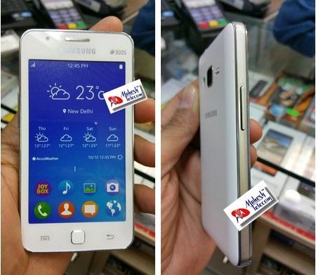 Samsung Z1 sở hữu ngoại hình của những chiếc điện thoại giá rẻ cách đây nhiều năm