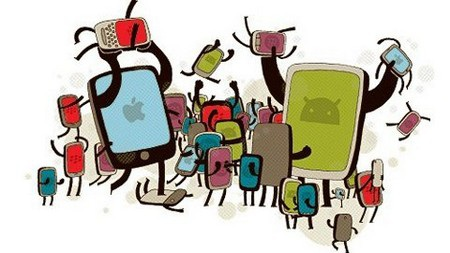 """Hai """"ông lớn"""" Android và iOS vẫn thống trị trên thị trường smartphone"""
