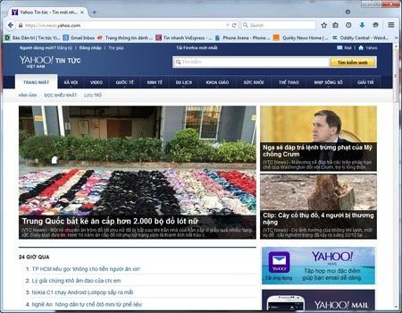 Yahoo Tin Tức, trang tổng hợp tin tức từ các tờ báo địa phương, sẽ bị đóng cửa tại Việt Nam