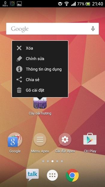 Mang giao diện mượt mà cùng nhiều tính năng hữu ích lên Android