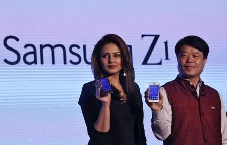 Smartphone Tizen của Samsung khởi đầu chậm chạp hơn trông đợi