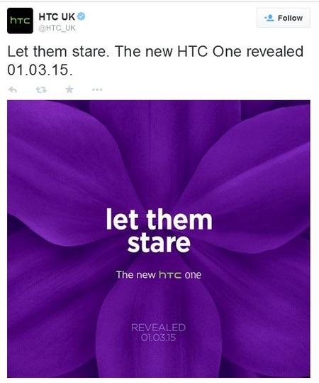 Thông điệp và thời điểm ra mắt One M9 được HTC chi nhánh tại Anh tiết lộ