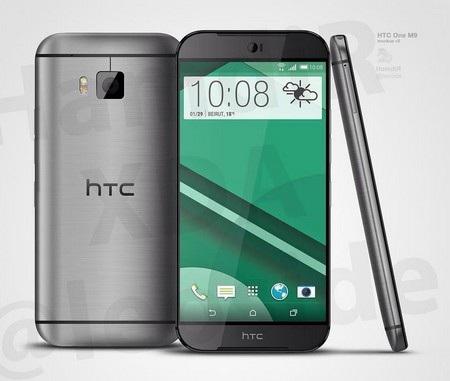 Hình ảnh chính thức HTC One M9 từng bị rò rỉ