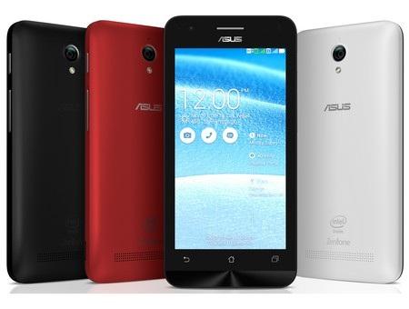 ZenFone C có thiết kế bên ngoài giống với các mẫu ZenFone trước đây của Asus