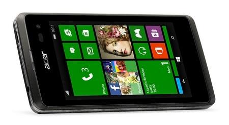 Liquid M220 là smartphone chạy Windows Phone giá rẻ của Acer
