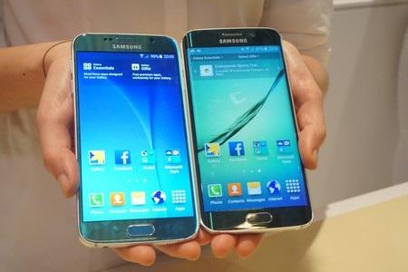 So sánh bộ đôi Galaxy S6 và Galaxy S6 Edge