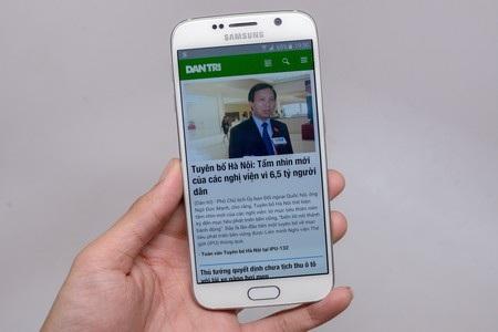 Duyệt web trên Galaxy S6