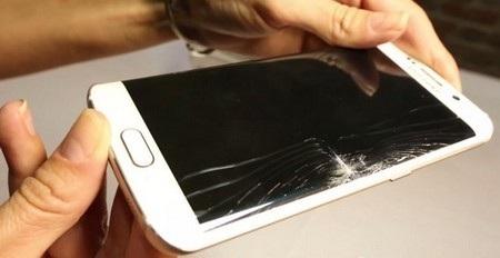 Galaxy S6 edge bị vỡ màn hình trong màn thử nghiệm của SquareTrade