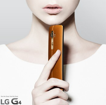Những hình ảnh chính thức của LG G4 vừa được chính LG tiết lộ