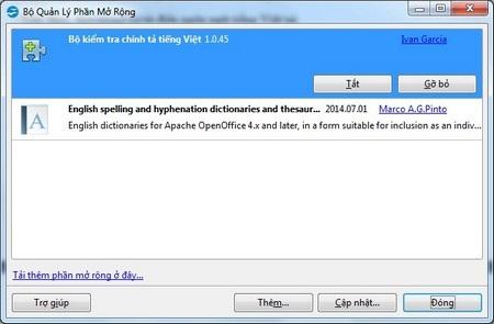 Hướng dẫn kiểm tra chính tả trên OpenOffice