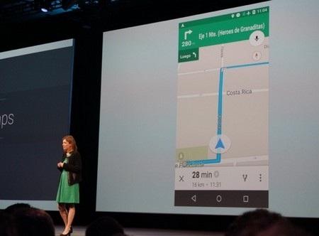 Google Maps cho phép người dùng khai thác các tính năng dù không có kết nối Internet