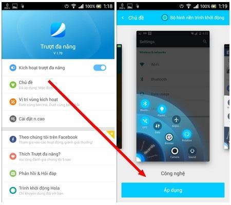 Ứng dụng hữu ích giúp sử dụng smartphone bằng một tay dễ dàng hơn