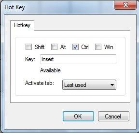 Các phần mềm được tạo liên kết với từng ký tự tương ứng