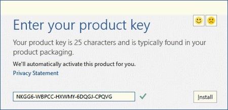 Tại hộp thoại hiện ra sau đó, bạn điền đoạn mã bản quyền phần mềm sau vào khung trống: