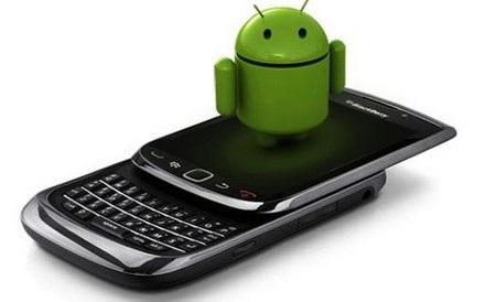 Liệu sẽ có sự kết hợp giữa BlackBerry và nền tảng Android trong tương lai?