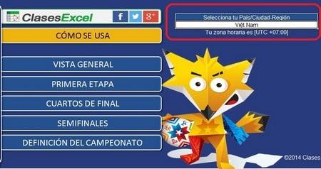 """Bộ lịch thi đấu thông minh Copa America 2015 dành cho """"tín đồ"""" bóng đá"""