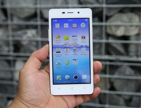 Oppo Joy 3 là smartphone tầm trung mới được xuất hiện tại thị trường Việt Nam