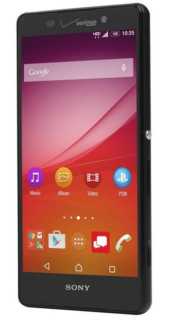 Xperia Z4v là smartphone đầu tiên của Sony sở hữu màn hình 2K