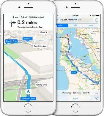 Bản đồ của Apple sẽ hoàn thiện hơn với phiên bản mới