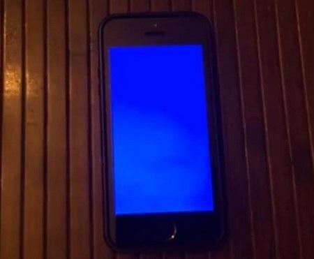 Một lỗi màn hình xanh xuất hiện trên iPhone 5S
